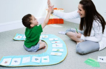 speech therapy and language therapy toy for small children with autism and other language related disabilities
